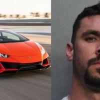 Hombre de Florida gastó fondos de ayuda por covid-19 en un Lamborghini