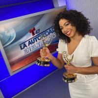 Periodista dominicana gana dos premios Emmy