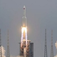 Mira dónde cayeron los restos del cohete chino