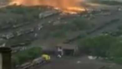 Se registra fuerte explosión en ArcelorMittal