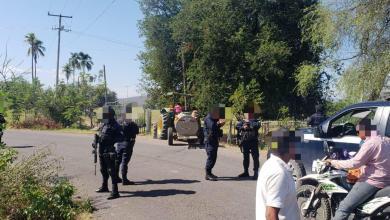 Libera SSP tramos carreteros en la rúa Apatzingán-Aguililla