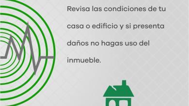 Reitera Segob recomendaciones para actuar en caso de sismo