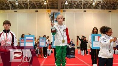 """""""Bibi"""", la gimnasta mexicana con Síndrome de Down campeona del mundo"""