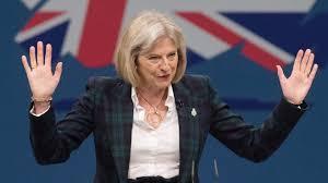 Exigen renuncia de Theresa May