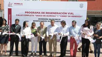 Raúl Morón inaugura vialidades incluyentes en el Centro Histórico