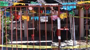 Clausuran palapa Los Potros, lugar del multihomicidio en Minatitlán