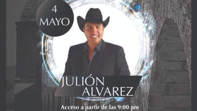 ¡No te puedes perder la presentación de Julión Álvarez!