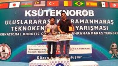 Ganan mexicanos medallas de oro, plata y bronce en torneo de robótica