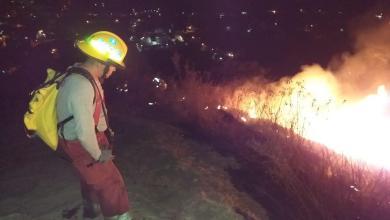 Atienden y controlan incendio en el Cerro de Jicalán