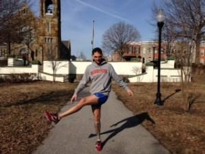 Dynamic Stretching #2, Side Leg Swings