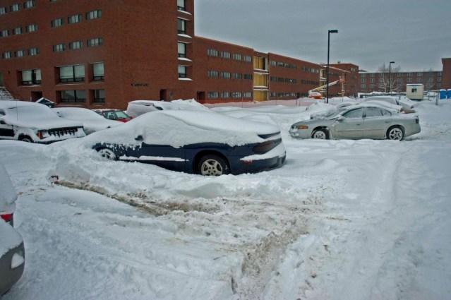 college snow life.