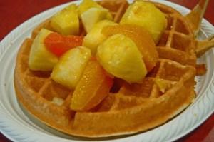 hotel waffle