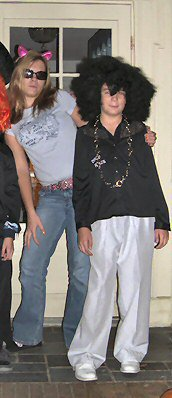 This is Matt and I from probably 10 years ago Halloween.  Just to humour you.