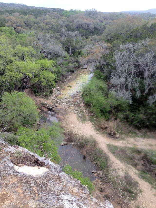 mmm...trails in Texas...