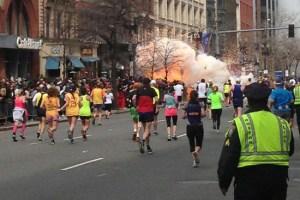 Explosion at the 117th Boston Marathon, Boston, America - 15 Apr