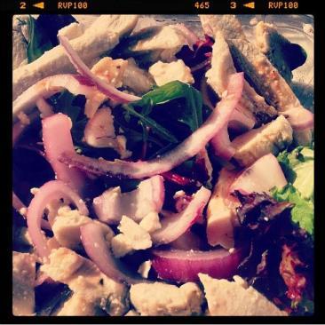 Look I like to eat healthy salads.  I am awesome!