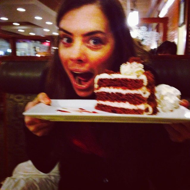 I'm a cake girl.
