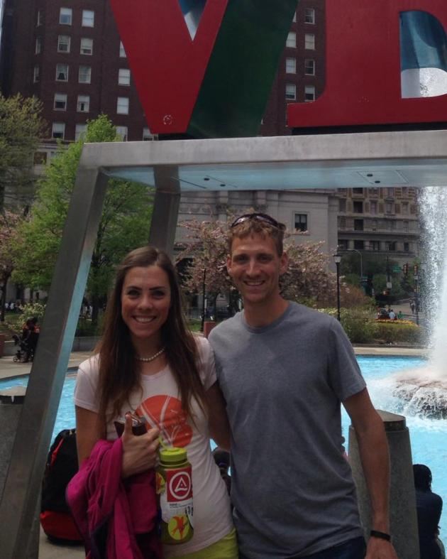 Downtown Philly with Justin
