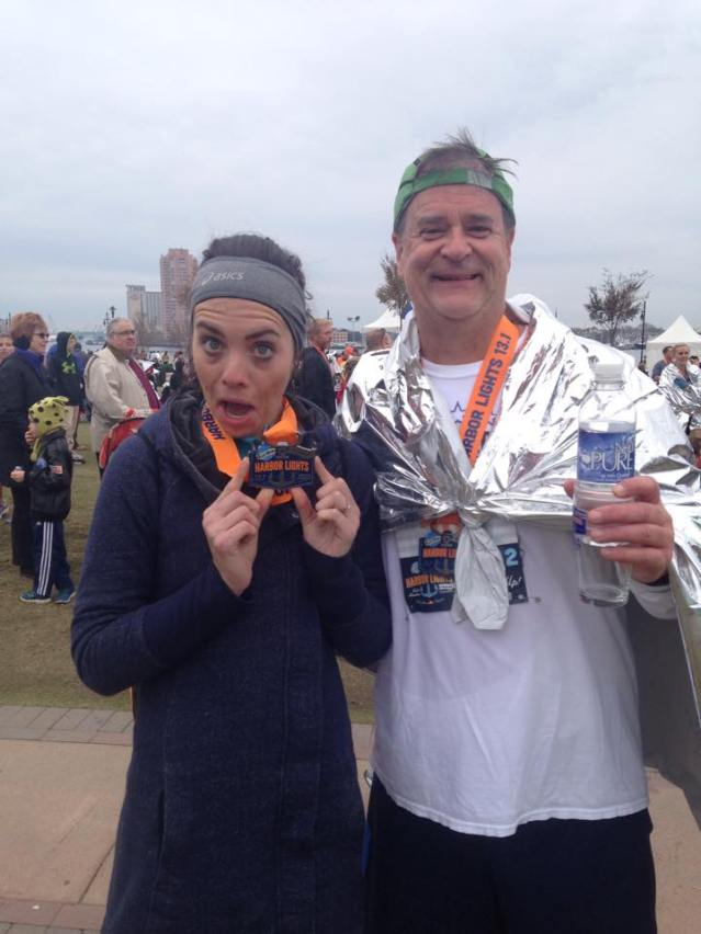 DadLOLZ and I post race.