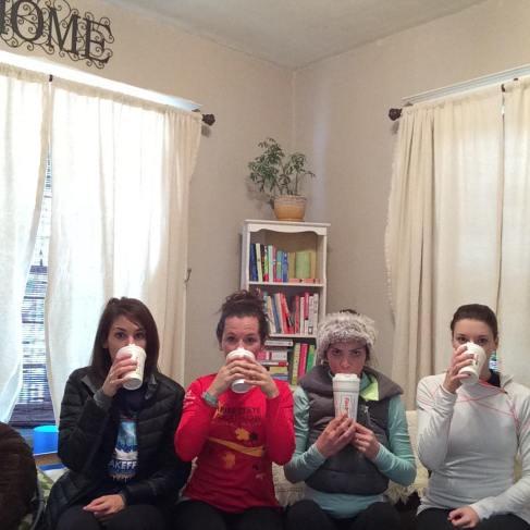 girls weekend coffee