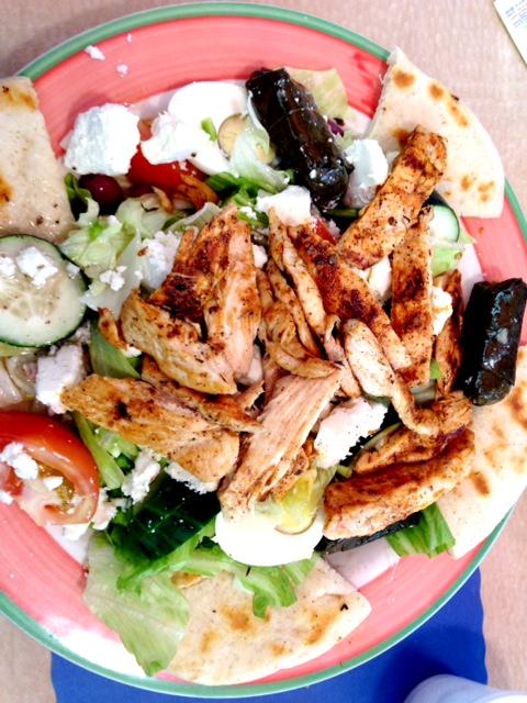 Dolphin Diner Salad