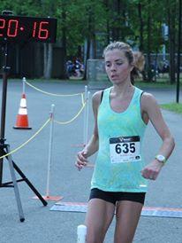 me running 5k