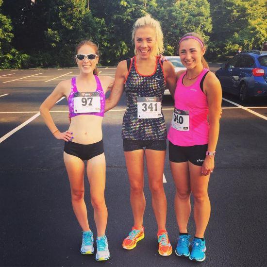 Liz, Angela and I went were the top 3 women!