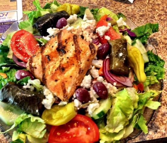 Wisdom Diner Salad