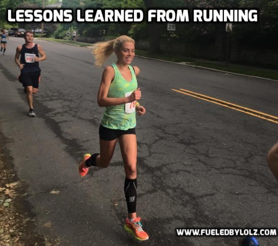 lessons learned from running
