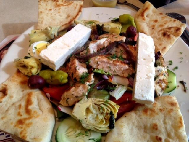 Pegasus Restaurant Salad