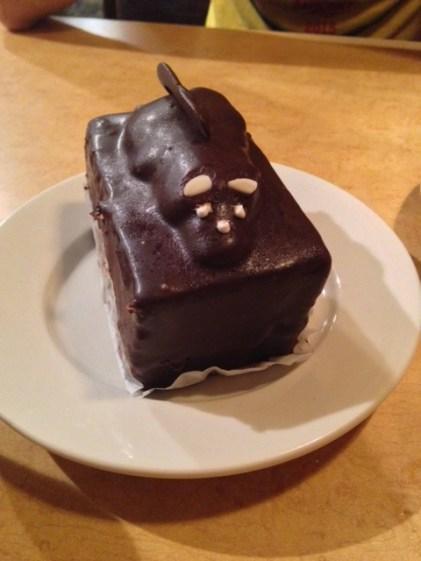 Seville diner mouse cake