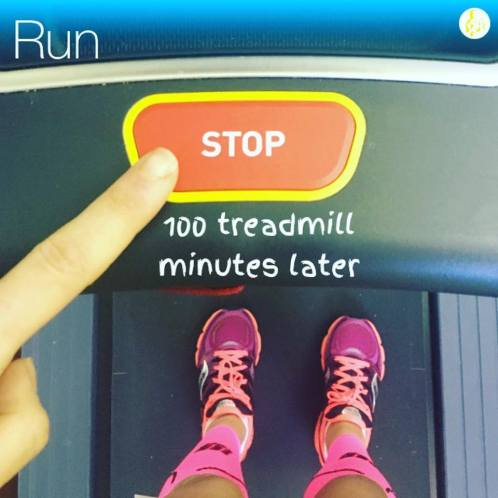stop running treadmill