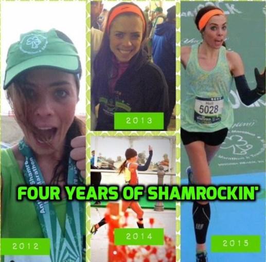 Shamrock half marathon VA beach