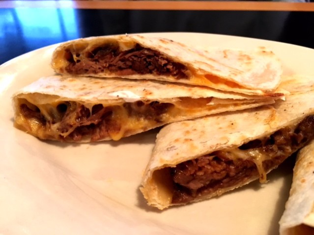 Red Oak Diner and Lounge quesadilla