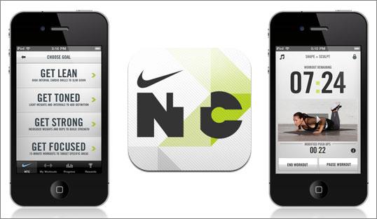 nike traning club app