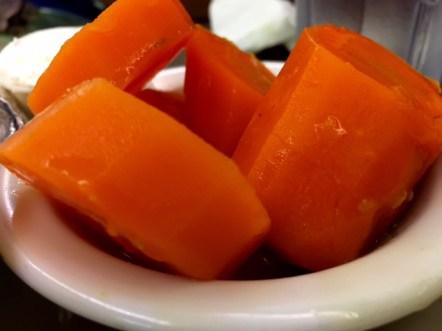 Minella's Diner carrots