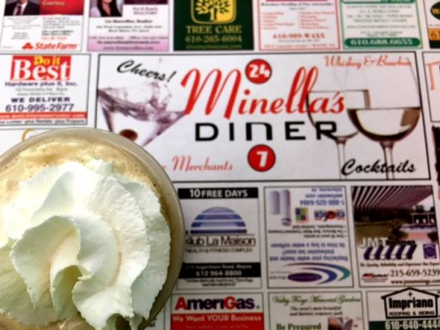 Minella's Diner coffee