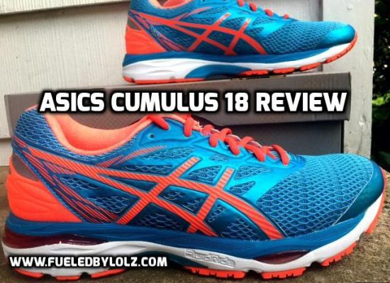 Asics Cumulus 18 Shoe Review