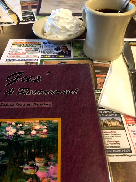 Gus's Diner coffee