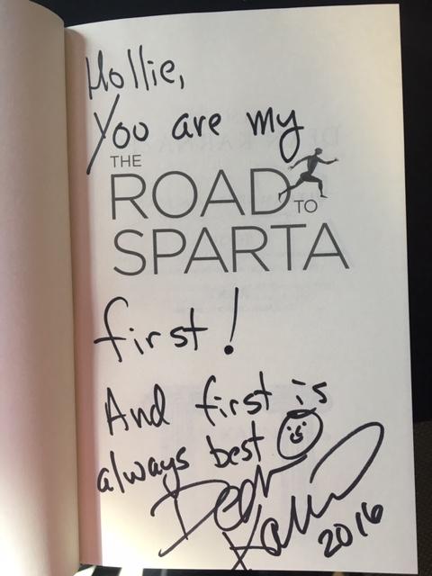 Road to Sparta Dean Karnazes.