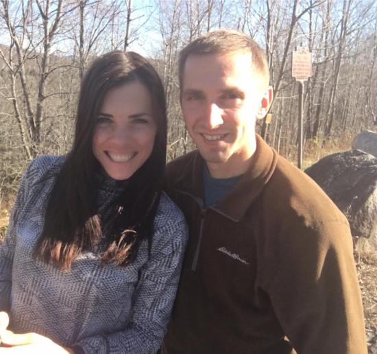 hiking in the adirondacks tim and i