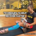 Techniques to Help Recover Faster: