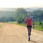 Workouts: Hilly Scenic Runs and a 5k