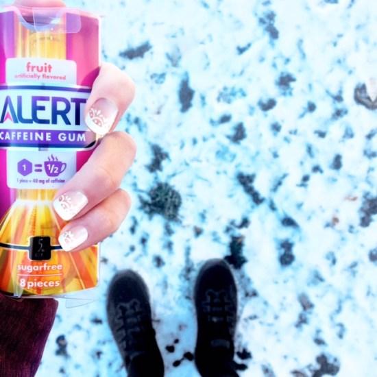 Alert Caffeinated Gum