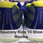 Saucony Ride 10 Shoe Review