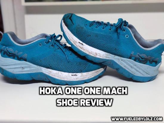 hoka one one mach shoe review