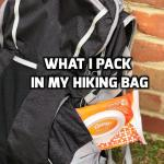 What I Pack in my Hiking Bag