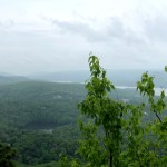 Hiking Bear Mountain in a Downpour