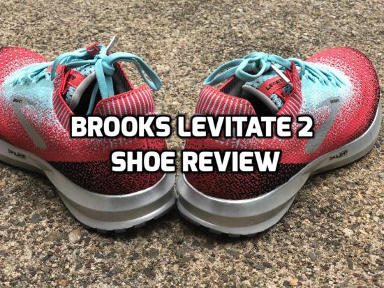 Brooks levitate 2 shoe review
