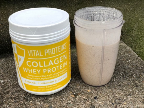 Vanilla Almond Recovery Protein Smoothie Recipe vital proteins